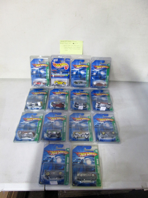 1000 piece hot wheels collection with 1995 treasure hunt set image 3