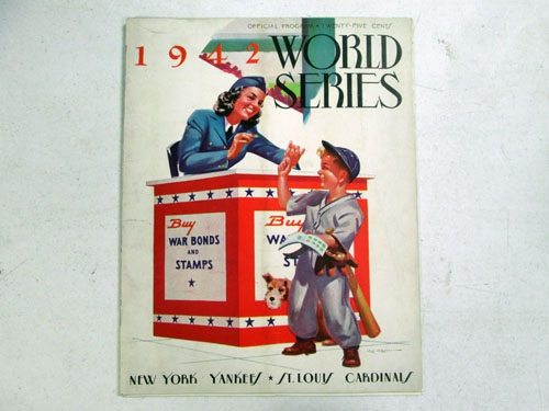 image 2 of an incredible sports memorabilia collections with world series programs and tickets