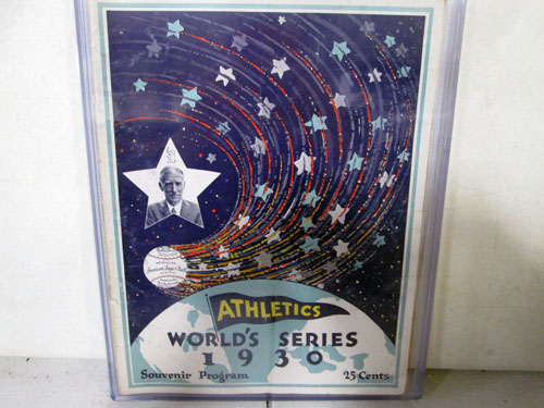 image 24 of an incredible sports memorabilia collections with world series programs and tickets