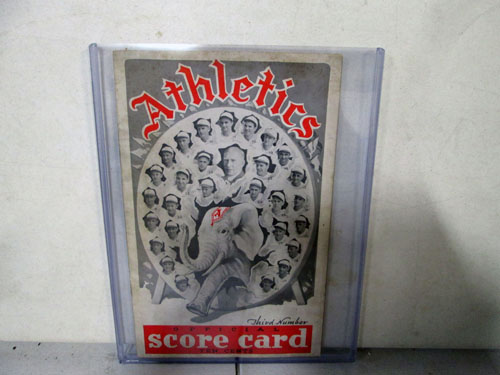 image 25 of an incredible sports memorabilia collections with world series programs and tickets
