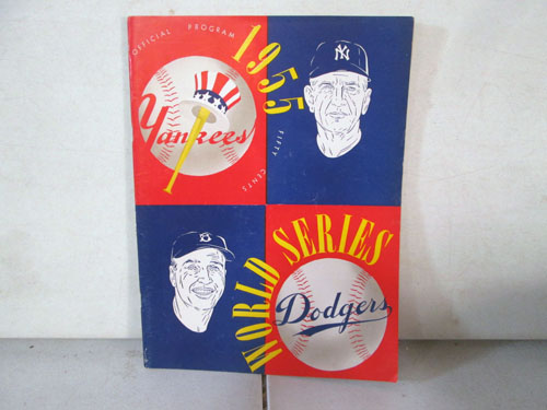 image 28 of an incredible sports memorabilia collections with world series programs and tickets