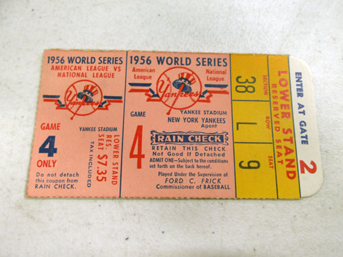 image 44 of an incredible sports memorabilia collections with world series programs and tickets