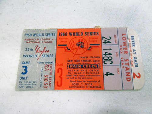 image 47 of an incredible sports memorabilia collections with world series programs and tickets