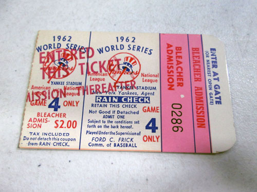 image 49 of an incredible sports memorabilia collections with world series programs and tickets