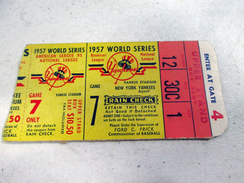 image 53 of an incredible sports memorabilia collections with world series programs and tickets