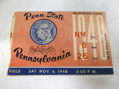 image 55 of an incredible sports memorabilia collections with world series programs and tickets
