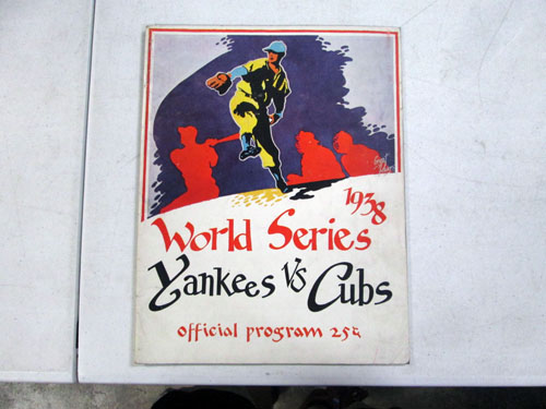 image 7 of an incredible sports memorabilia collections with world series programs and tickets