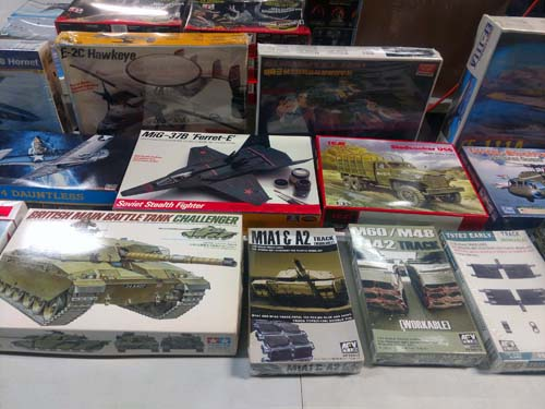 Military model collection image 1