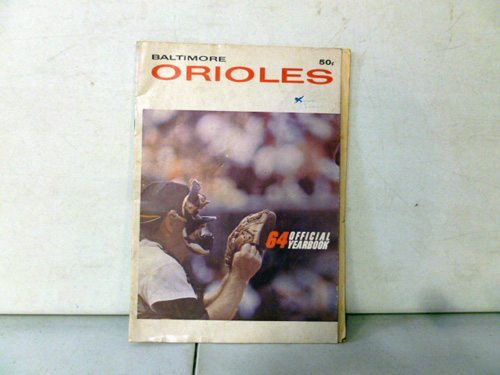 vintage baltimore orioles yearbook collection image 1