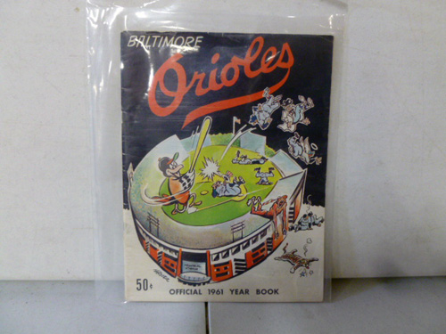 vintage baltimore orioles yearbook collection image 4