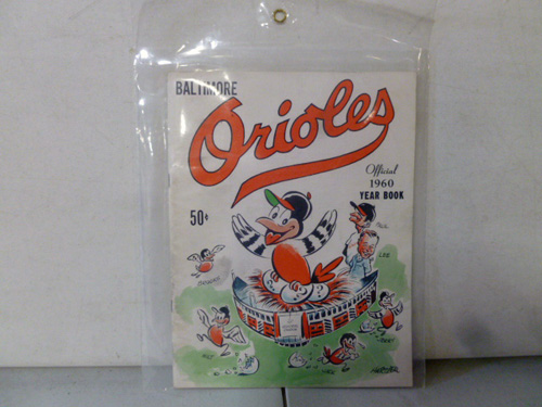 vintage baltimore orioles yearbook collection image 5