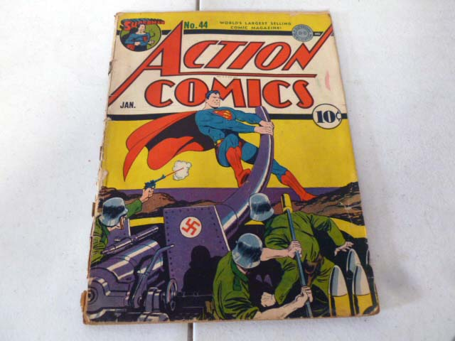 Vintage comic book collection with early DC comics image 16