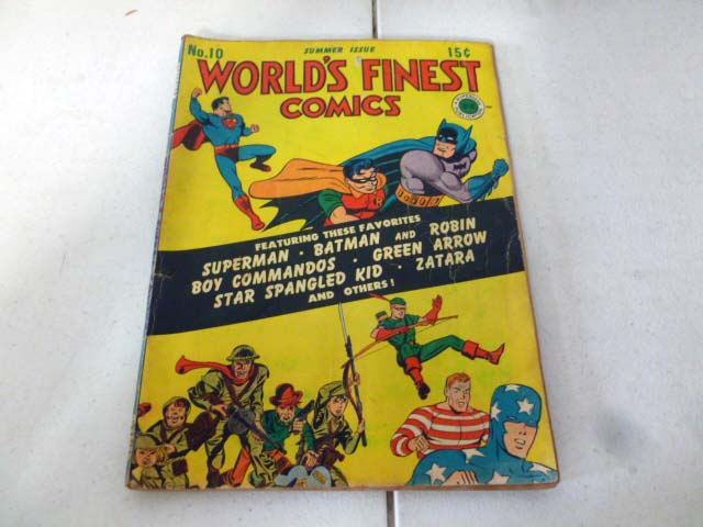 Vintage comic book collection with early DC comics image 4